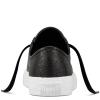 Кеды Converse All Star Низкие Женские Чёрные Кожаные Конверсы 157667C (Black)