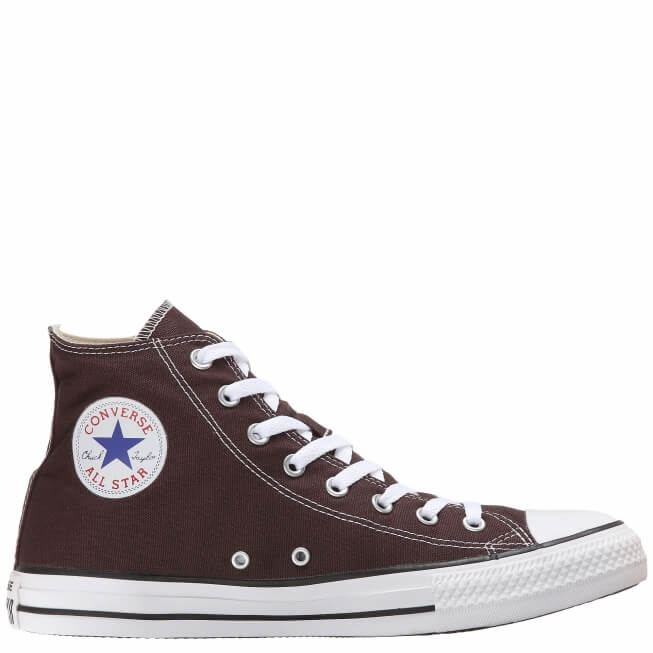 Кеды (Оригинал) Converse Chuck Taylor All Star Seasonal Высокие Коричневые (Brown)