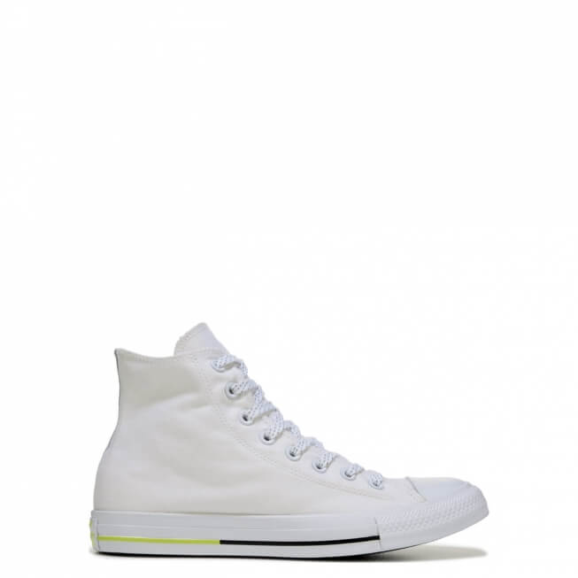 Кеды (Оригинал) Converse Chuck Taylor All Star Shield Canvas Высокие Белые (White)