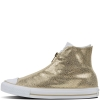 Кеды (Оригинал) Converse Chuck Taylor All Star Shroud Sting Ray Leather Высокие Золотые (Gold)