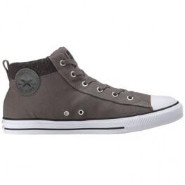 Кеды Converse ® Оригинал Серые Высокие — Мужские Конверсы — 149436F