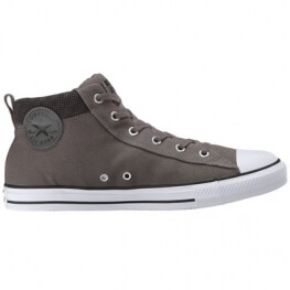 Кеды (Оригинал) Converse Chuck Taylor All Star Street Hi Charcoal Mid Top Серые (Grey)