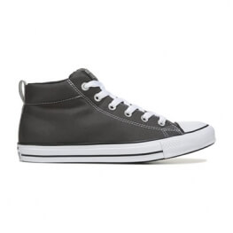 Кеды (Оригинал) Converse Chuck Taylor All Star Street Mid Top Серый (Grey)