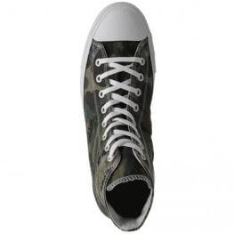 Кеды Converse ® Оригинал Высокие Зелёные — Мужские Конверсы — 142281C