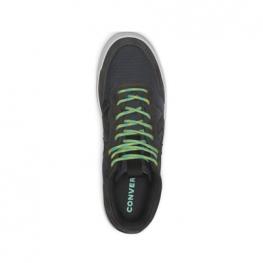 Кеды Converse ® Оригинал Чёрные Низкие — Мужские Кожаные Конверсы — 162552C