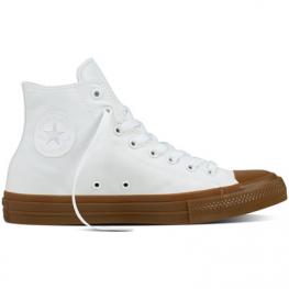 Кеды (Оригинал) Converse Chuck Taylor All Star II Gum Pack Высокие Белые (White)