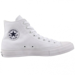 Кеды (Оригинал) Converse Chuck Taylor All Star II Высокие Белые (White)