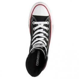 Кеды Converse ® Оригинал Высокие Чёрные — Женские Конверсы — 549587F