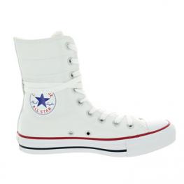 Кеды (Оригинал) Converse Chuck Taylor All Star Hi-Rise Высокие Белые (White)