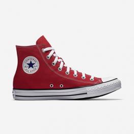 Кеды (Оригинал) Converse Chuck Taylor All Star Высокие Красные (Red)