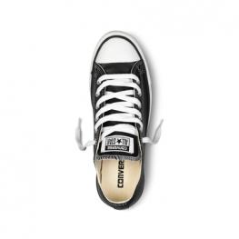 Кеды Converse ® Классические Чёрные Низкие — Женские Кожаные Конверсы — 132174C