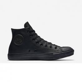 Кеды Converse ® Классические Высокие Чёрные — Женские Кожаные Конверсы — 135251C