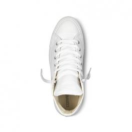 Кеды Converse ® Классические Высокие Белые  — Женские Кожаные Конверсы — 1T406
