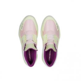 Кроссовки Converse ® Оригинал Розовые Низкие — Женские Конверсы — 163115C