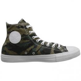 Кеды Converse ® Оригинал Зелёные Высокие — Женские Конверсы — 142281C